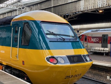 Farewell to Intercity 125