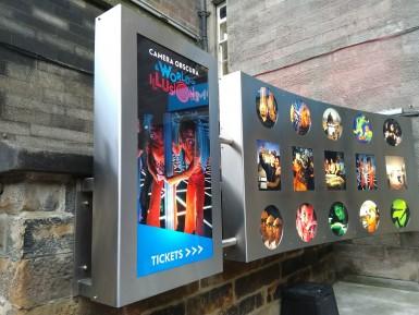 Advertising Cabinet
