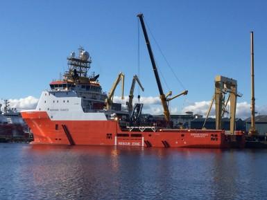mobilisation of a vessel